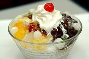 五彩冰淇淋