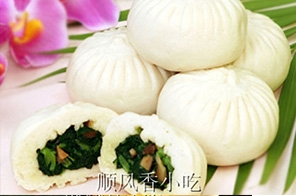 郑州香菇青菜包