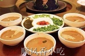 芝麻酱碗料调配方法