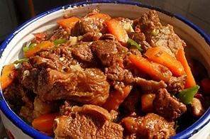 红焖羊肉火锅
